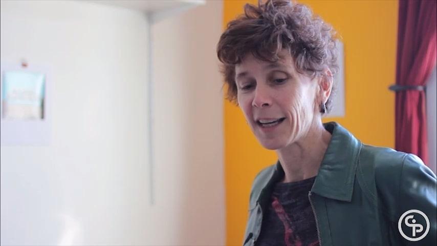 Still from Artist Talk with Liz Miller