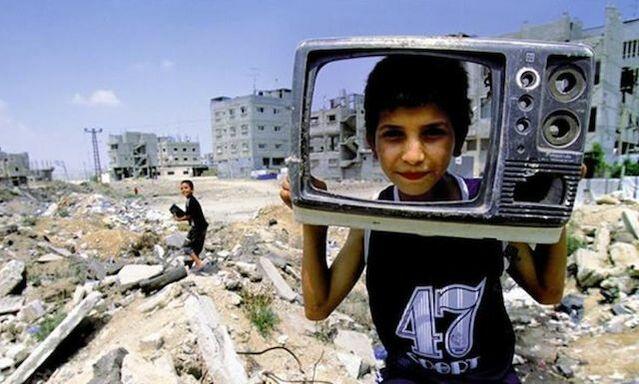 Still from Born In Gaza