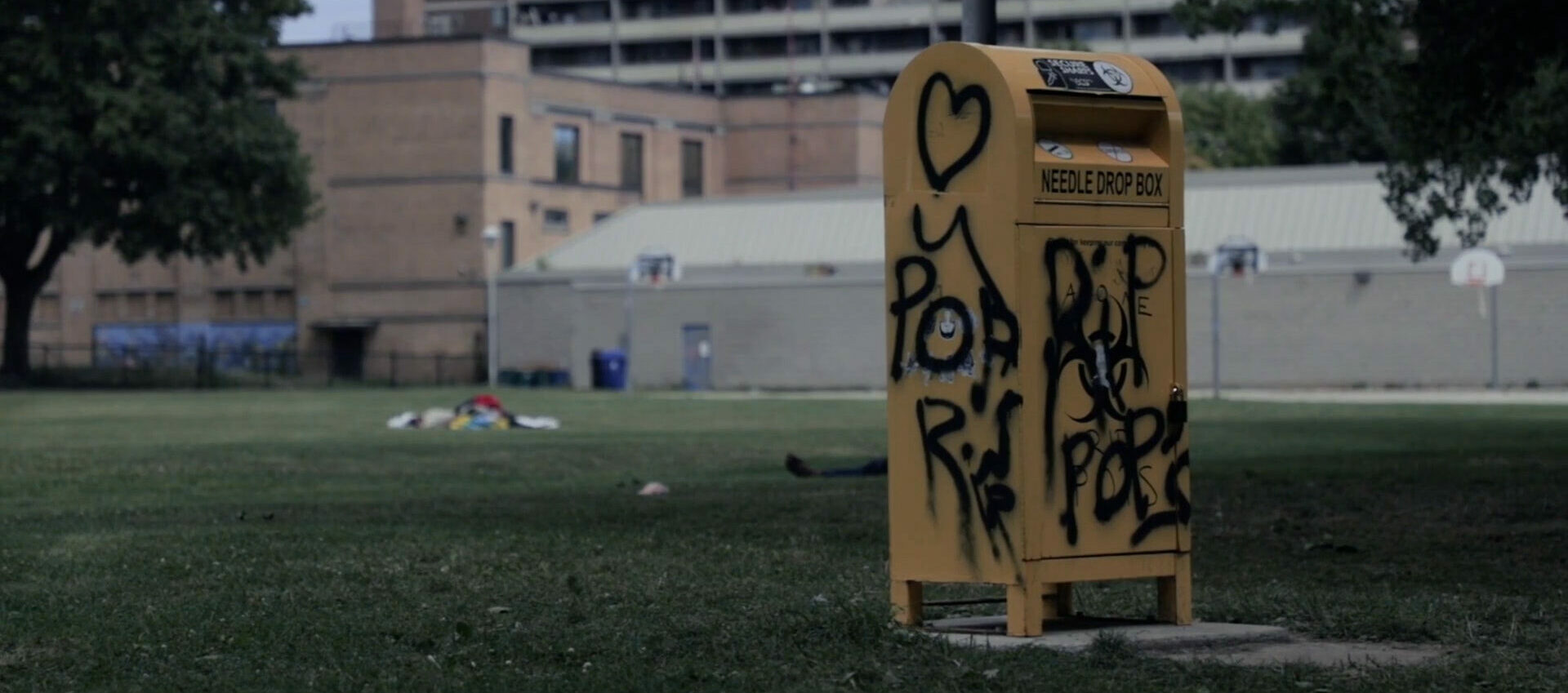 Still from Flood: The Overdose Epidemic in Canada