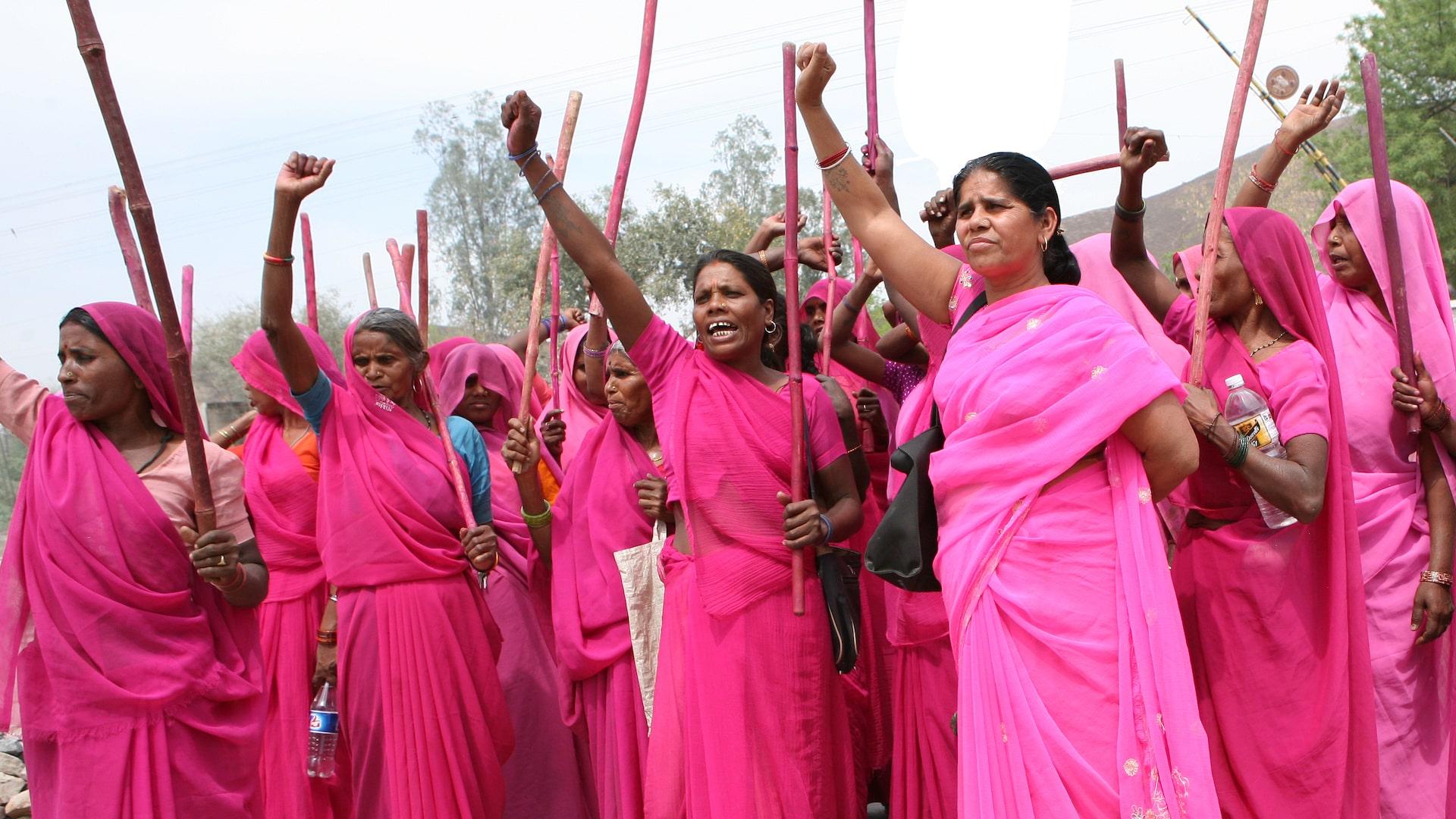 Still from Gulabi Gang