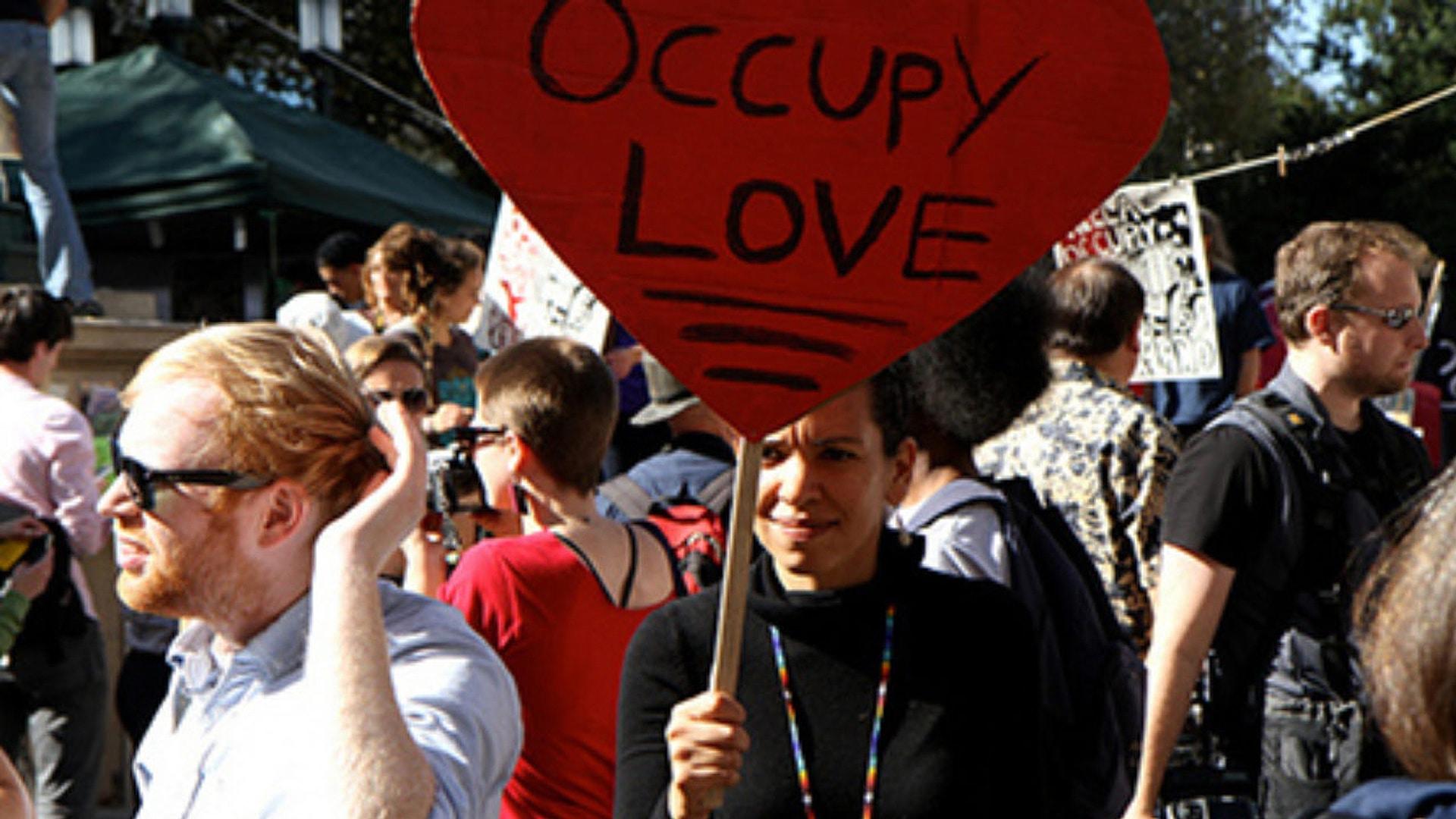 Still from Occupy Love