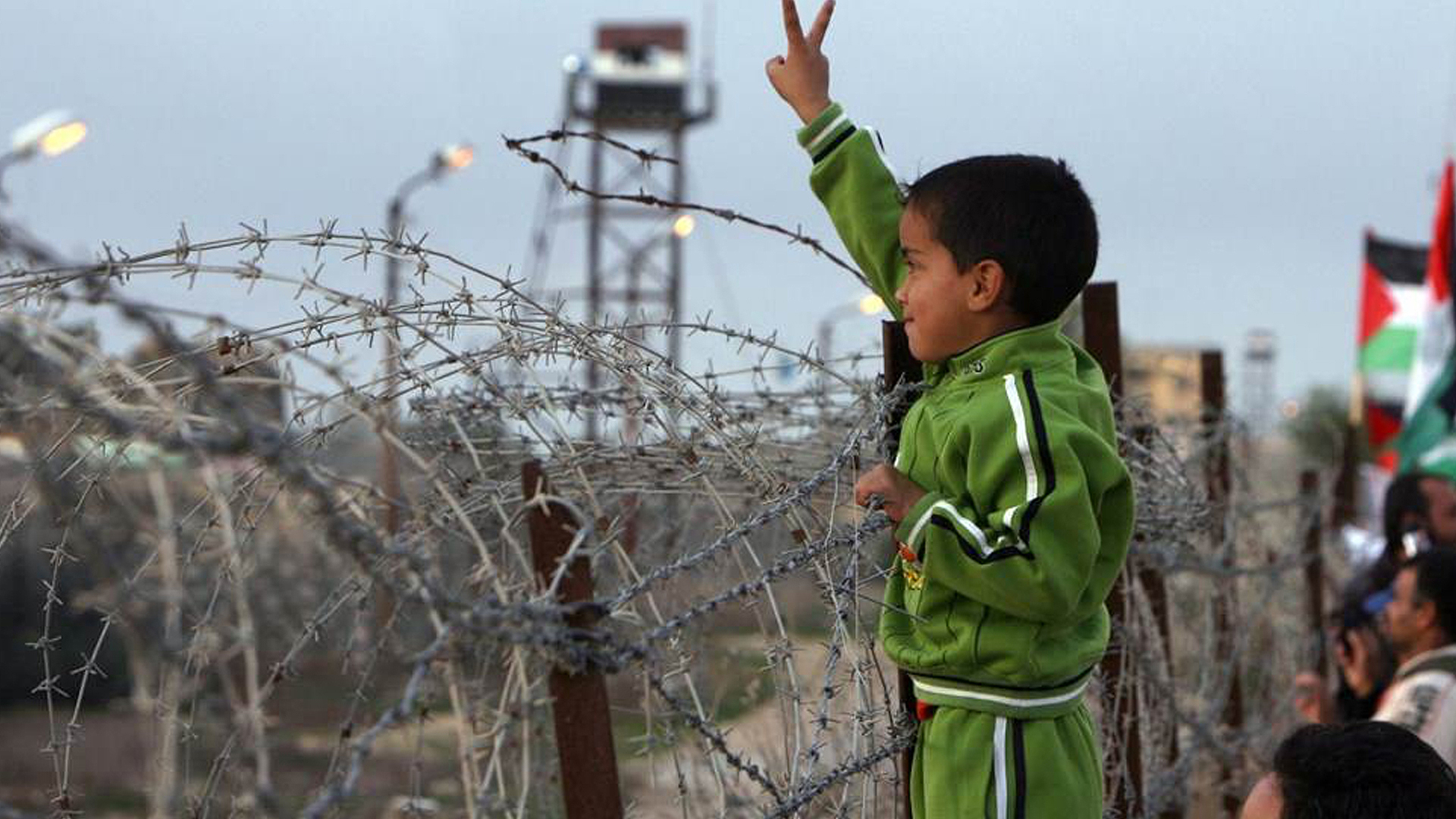 Still from Palestine is Still The Issue