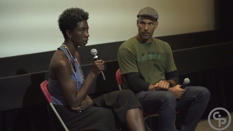 Still from Q&A with Sabaah Folayan - WHOSE STREETS?