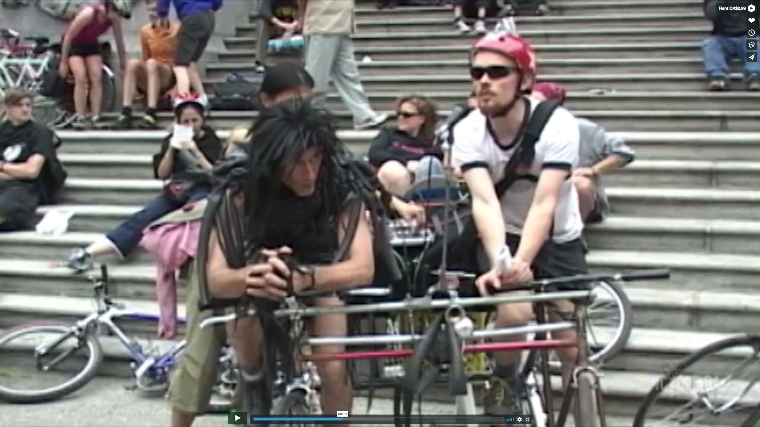 Still from You Never Bike Alone