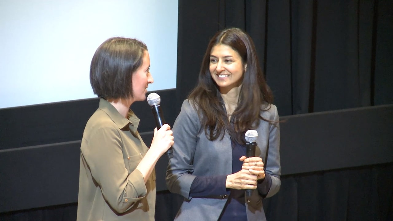 Still from Q&A with Ameesha Joshi & Anna Sarkissian - WITH THIS RING