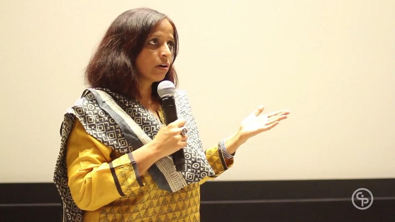 Still from Q&A with director Nishtha Jain - GULABI GANG