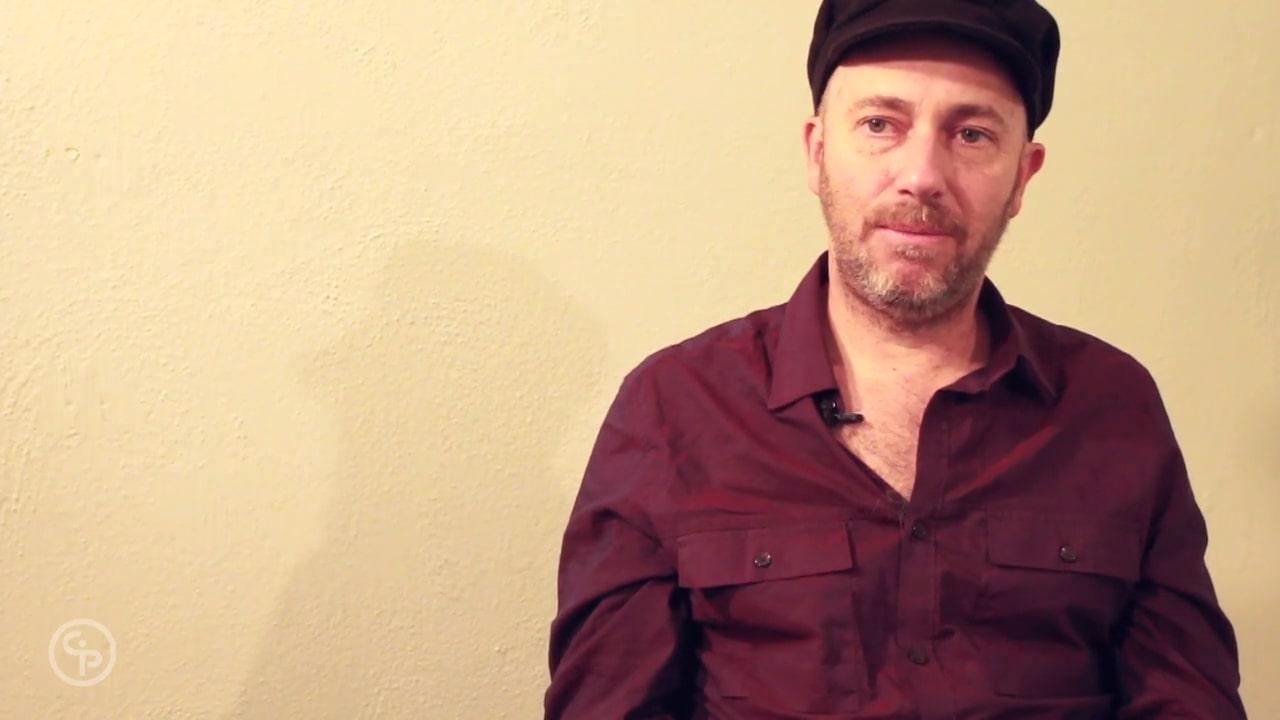 Still from Artist Talk with Velcrow Ripper