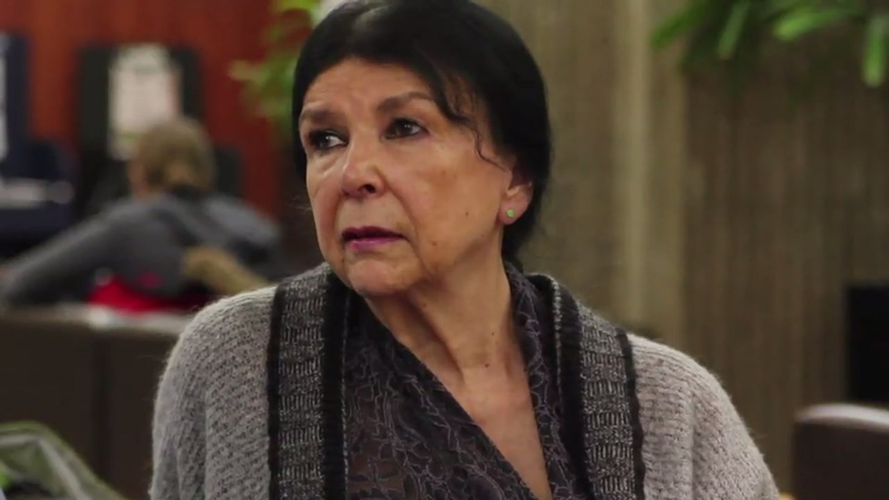 Still from Artist Talk with Alanis Obomsawin